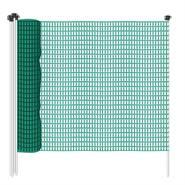 Stängselnät 20m x  80cm, allsidigt nätstaket, trädgårdsstängsel, skyddsnät, utan el