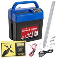 """Stängselaggregat """"Extra Power 9V"""" - batteriaggregat 9 V,  (utan batteri), VOSS.farming"""