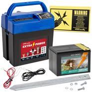 """Stängselaggregat  """"Extra Power 9V"""" - elaggregat 9 V, inkl batteri, VOSS.farming"""