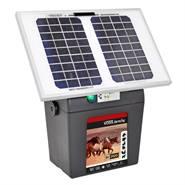 """Solcellspaket """"BV 3900 SOLAR"""" 9 V - solcellspanel, elaggregat, laddningsbart batteri VOSS.farming"""
