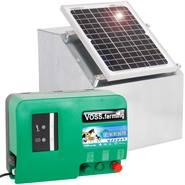 Solcellspaket: 12W solcellspanel + box + elaggregat Green Energy 12V VOSS.farming