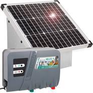 Solcellspaket: Elstängselaggregat HELOS 4 + Solcellspanel 35W + Metallbox, VOSS.farming