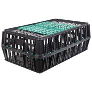 Transportlåda för höns och fågel, skjutlucka, VOSS.farming