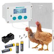 Lucköppnare Poultry Kit inkl. hönslucka 430 x 400 mm, VOSS.farming