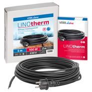 Värmekabel LINOtherm 5-50m, frostskydd för tak-, hängränna, stuprör, värmeslinga, VOSS.eisfrei