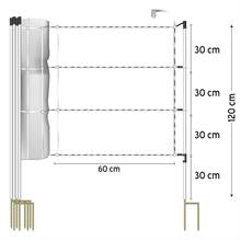 27240-30-5-m-voss-farming-horse-netting-120-cm-3x0-2-stainless-steel-jumbo-support-posts-2-spikes-wh