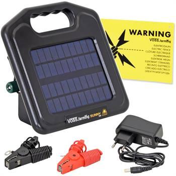 """Solcellsaggregat """"Sunny 200"""" solcellsdrivet stängselaggregat inkl. batteri VOSS.farming"""
