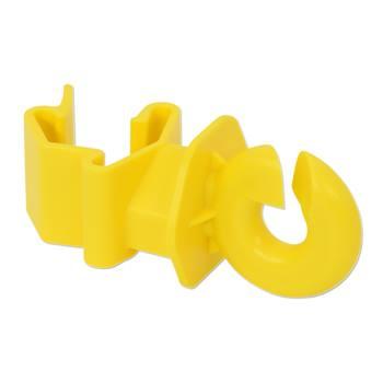 Ringisolator till T-stolpe, gul, 25st-pack, VOSS.farming