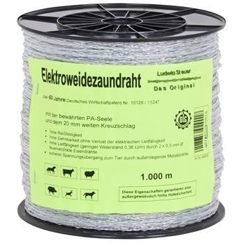 Eltråd polytråd 1000 m, Steuer
