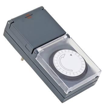 Timer, 230 V, mekanisk, outdoor/utomhus, IP44