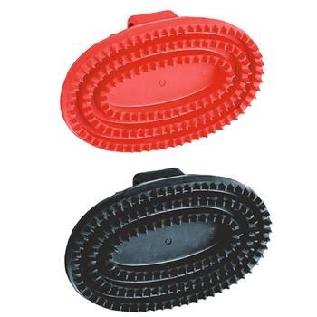 Gummiskrapa oval