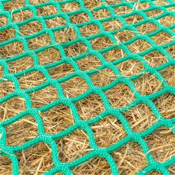 """Rundbalsnät """"runt"""" 2,50 m, maskstorlek 4,5 cm, hönät för rundbal, slow feeding hönät, VOSS.farming"""