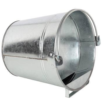 Vattenautomat  hink för höns, 7 liter eller 12 liter, galvad