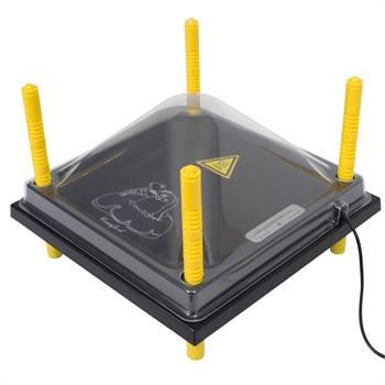 Skydd till värmetak 30 x 30 cm, plast (PET)