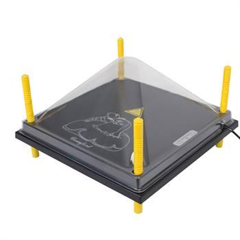 Skydd till värmetak 40 x 40 cm, plast (PET)