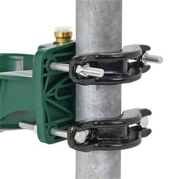 Rörfäste för vattenkopp, monteringsbygel, 120 mm