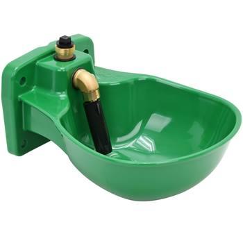 Vattenkopp till häst K75, rörventil, 1/2-anslutning, plast
