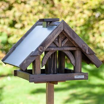 """Fågelbord """"Sibo""""- högvärdigt fågelbord inkl. stativ, VOSS.garden"""