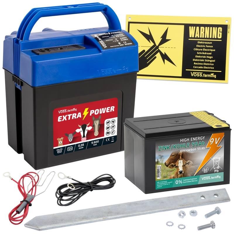 42011-batteriaggregat-extra-power-9-volt-inkl.-torrbatteri-voss-farming-elstängselaggregat-hästaggre