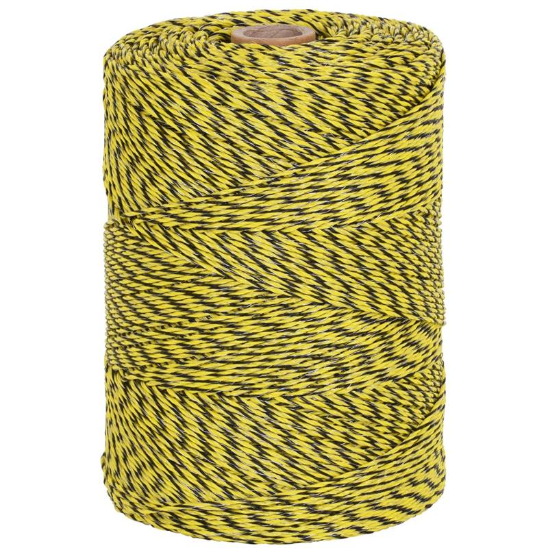 42705-2-voss.farming-electric-fence-polywire-1000m-1x0.25-copper-2x0.25-stainless-steel-black-yellow