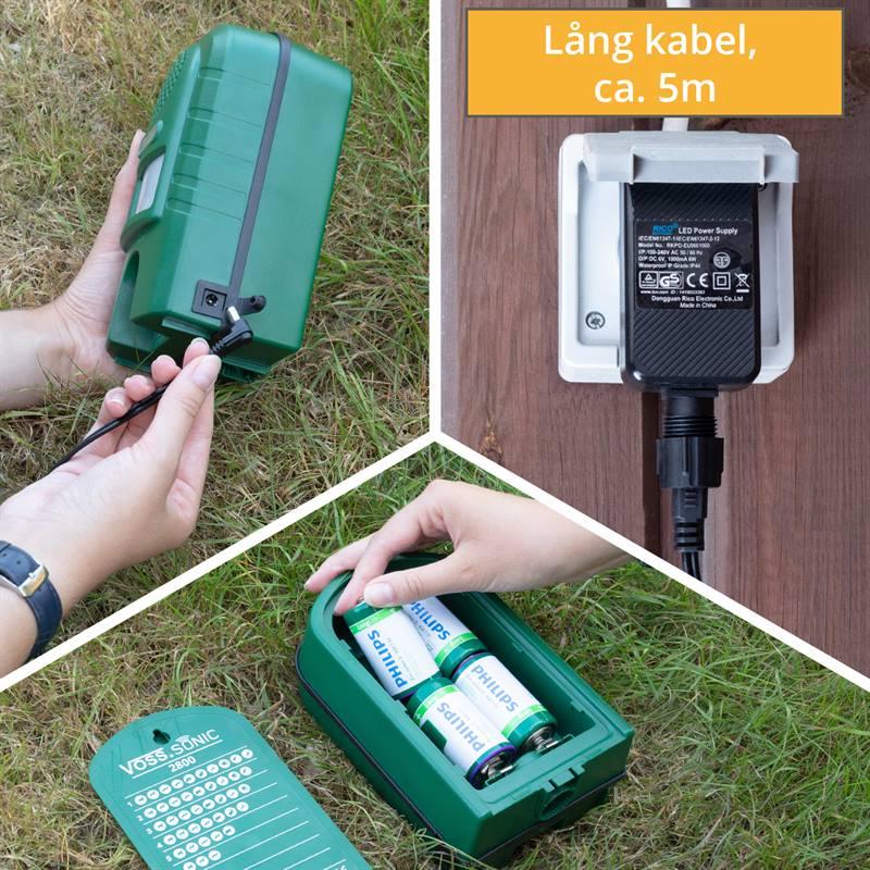 45343-6-djurskrämmare-batteridrift-eller-nätdrift-lång-kabel-kattskrämma-skrämma mot-rådjur-skrämma-
