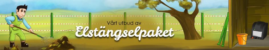 Trädgård & Trädgårdsdammar elstängselpaket