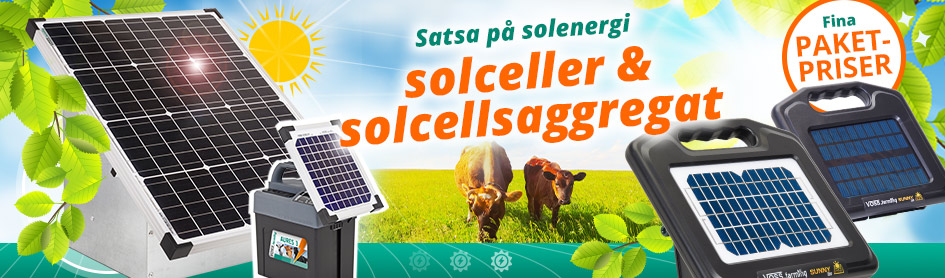 Satsa på solenergi – solceller & solcellsaggregat