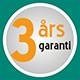 3 års garanti³
