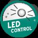 LED kontrollampa