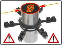 Tips: Stuprörets isolator kan levereras i två olika diametrar!